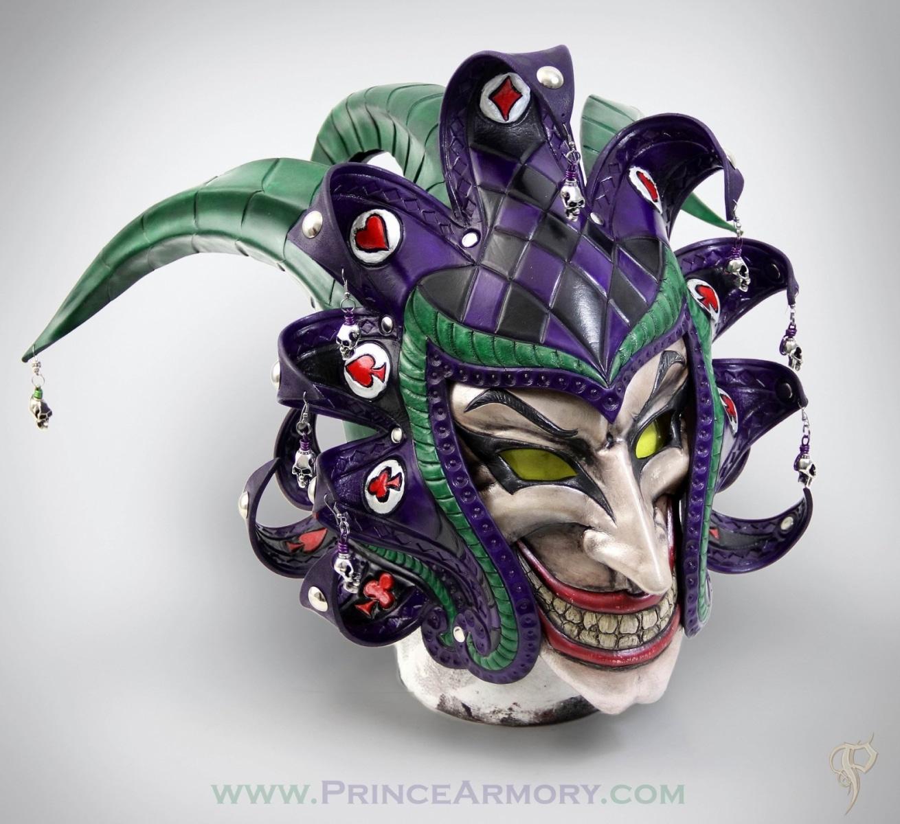Medieval Joker Helmet