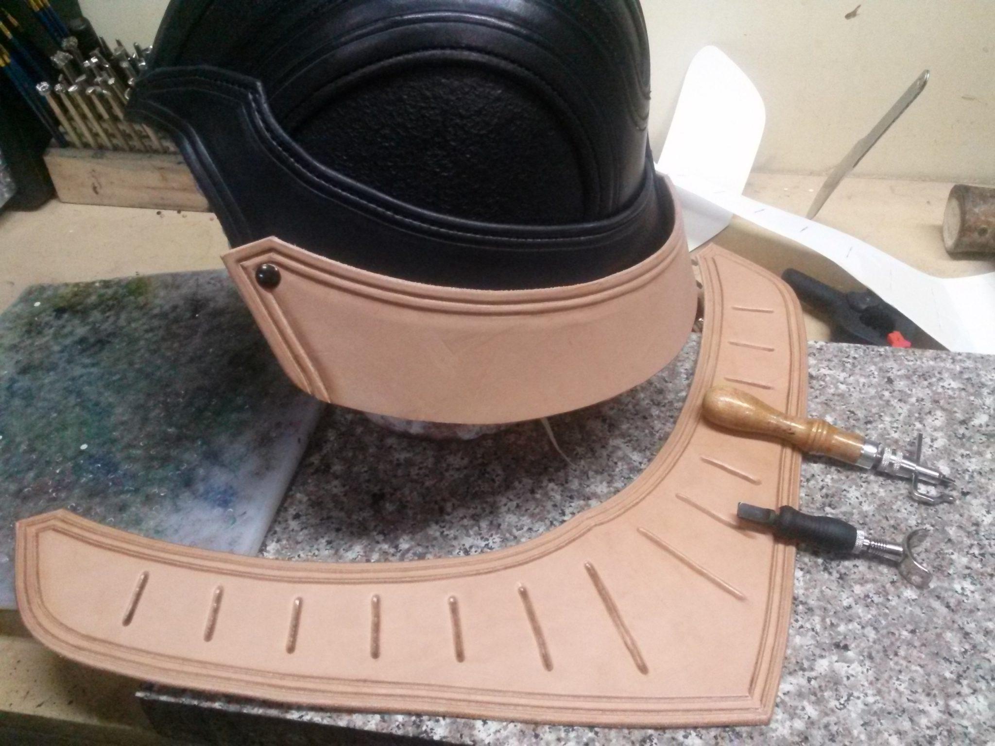 Medieval Vader Helmet WIP