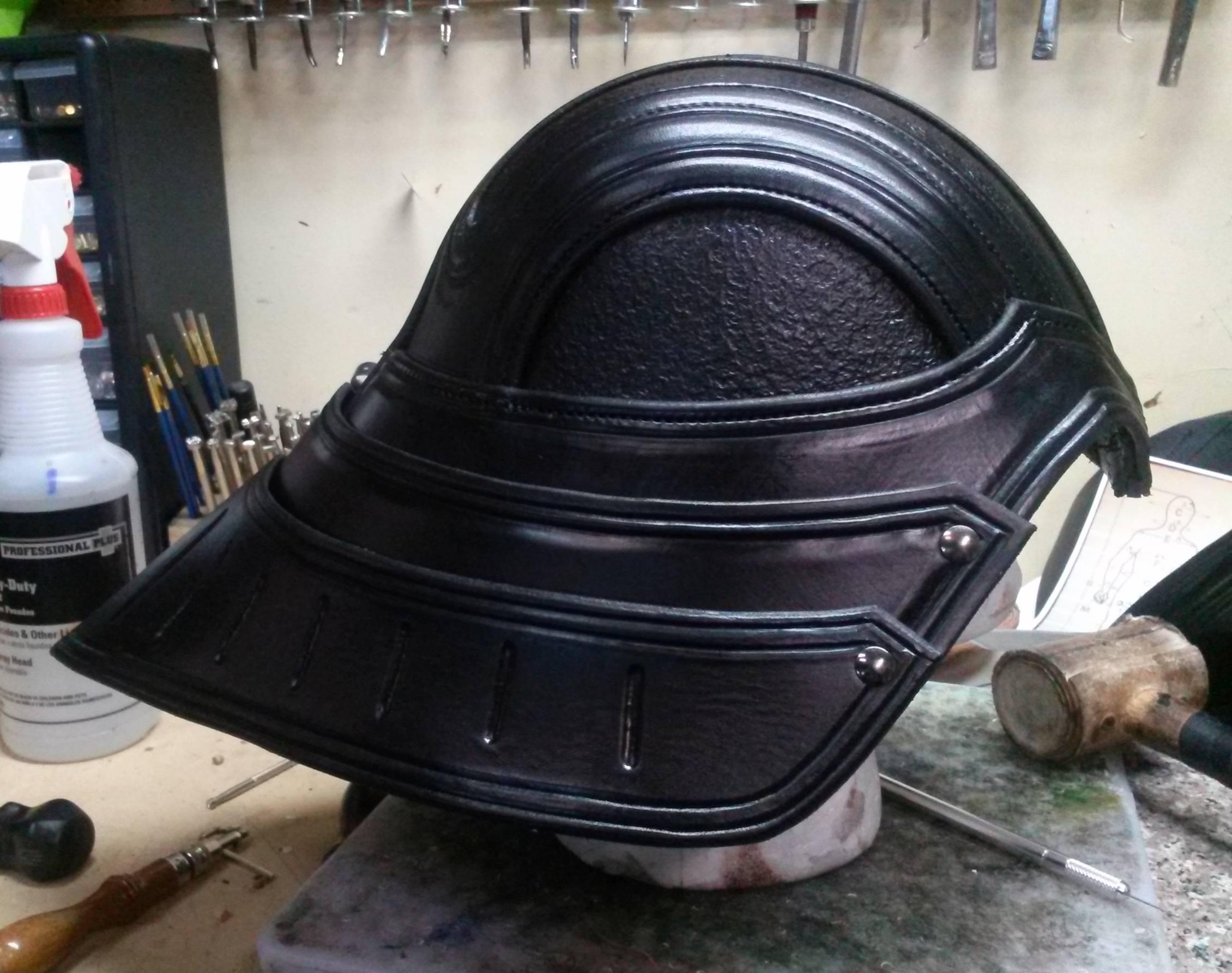 Medieval Vader Helmet Side