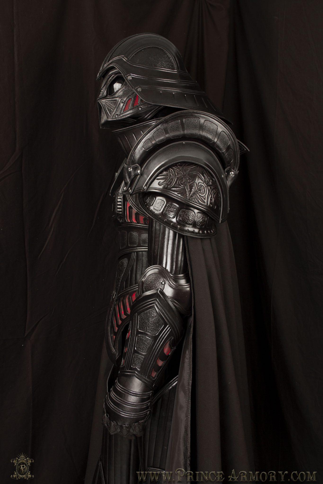 Medieval Vader Armor Side
