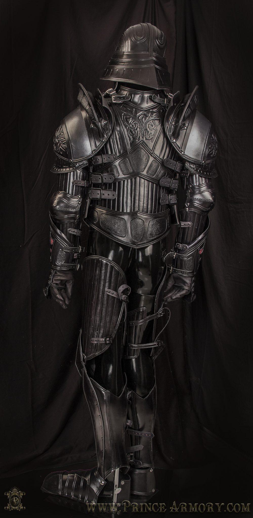 Medieval Vader Armor Back
