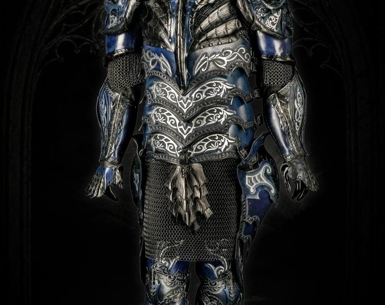 blue dragon armor