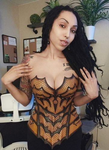 Fantasy Female Breastplate Pattern photo review