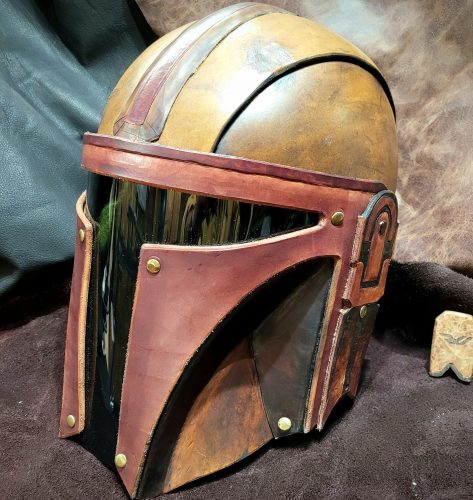 Mandalorian Helmet photo review