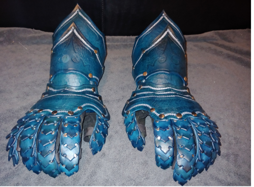 Fantasy Gauntlets Pattern photo review