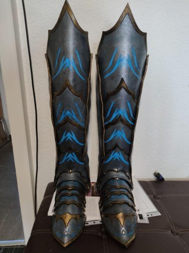 Fantasy Greaves Pattern photo review
