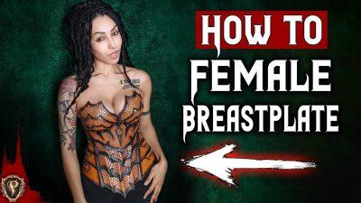Fantasy Female Breastplate Pattern - Tutorial 1
